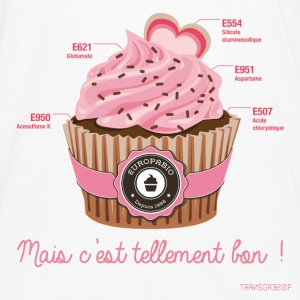 cupcake rose 2 Tabliers - T-shirt manches longues Premium Homme