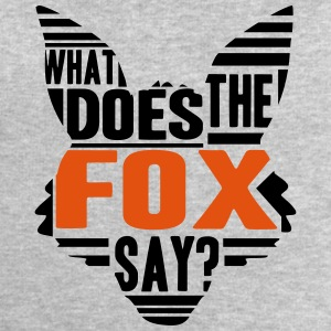 Cool What Does The Fox Say Logo T-Shirts - Männer Sweatshirt von Stanley & Stella
