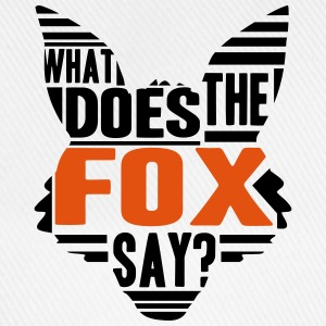 Cool What Does The Fox Say Logo T-Shirts - Baseballkappe