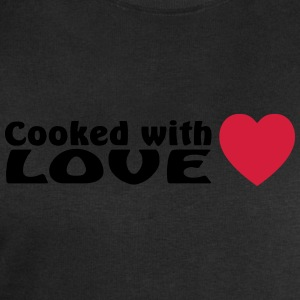 cooked with love  Aprons - Men's Sweatshirt by Stanley & Stella