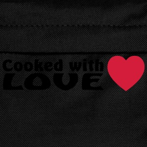 cooked with love  Aprons - Kids' Backpack