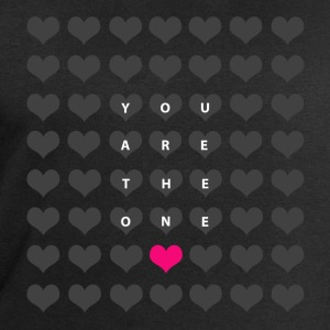 You are the one - valentine's day T-Shirts - Men's Sweatshirt by Stanley & Stella