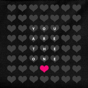 You are the one - valentine's day T-Shirts - Kids' Backpack