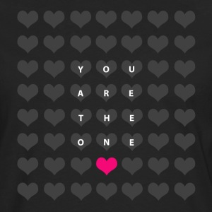 You are the one -  Amour Romantique Tee shirts - T-shirt manches longues Premium Homme