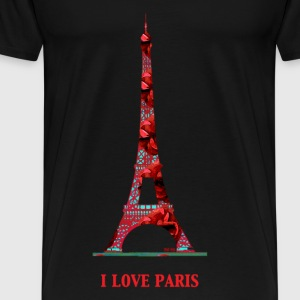 I love Paris Tee shirts manches longues - T-shirt Premium Homme