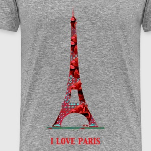 I love Paris - Männer Premium T-Shirt