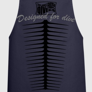 Designed for dive Tee shirts - Tablier de cuisine