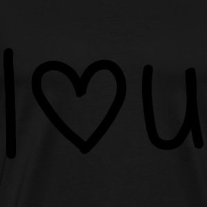 I Lovee You Sweaters - Mannen Premium T-shirt