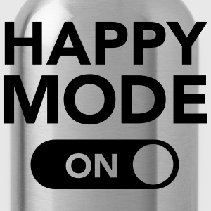 Happy Mode (on) T-Shirts - Trinkflasche