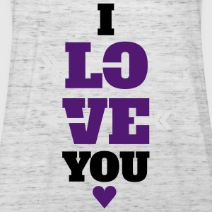 I love you valentines day, love Hoodies & Sweatshirts - Women's Tank Top by Bella