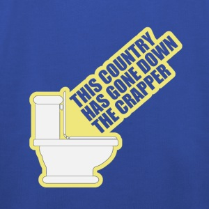 This Country Has Gone Down The Crapper T-Shirts - Kids' Premium Hoodie
