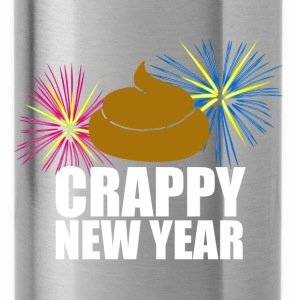 Crappy New Year T-Shirts - Water Bottle