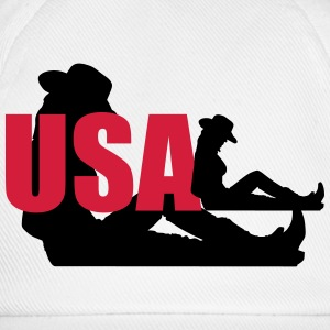 usa woman T-shirts - Basebollkeps