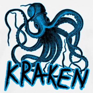 Kraken octopus viking monster mug - Men's Premium T-Shirt