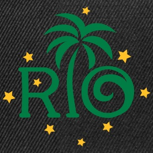 RIO Brazil Palm Star Football World Cup Champion T-Shirts - Snapback Cap