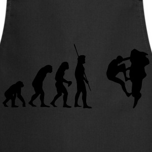Evolution Klatring  T-shirts - Forklæde
