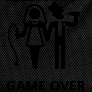 Game Over (Whip and Beer) T-Shirts - Kids' Backpack