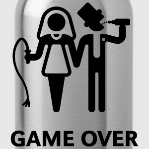Game Over (Whip and Beer) T-Shirts - Water Bottle