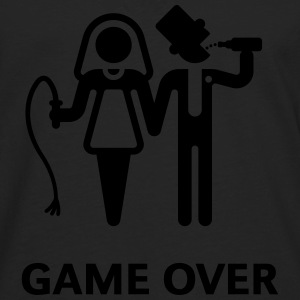 Game Over (Whip and Beer) T-Shirts - Men's Premium Longsleeve Shirt