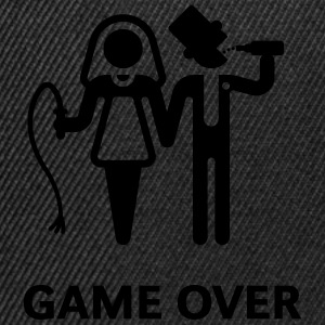 Game Over (Whip and Beer) T-Shirts - Snapback Cap