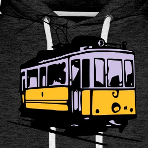 Tram historique / historic Tram  T-Shirts - Men's Premium Hoodie