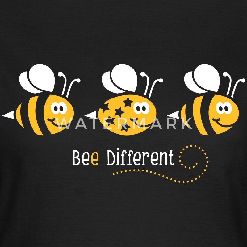 Be different - be yourself - Biene - Bee - 2C T-Shirts - Frauen T-Shirt