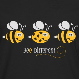 Be different - be yourself - Biene - Bee - 2C T-Shirts - Männer Premium Langarmshirt