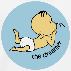 The Dreamer  Buttons & Anstecker - Männer Premium T-Shirt