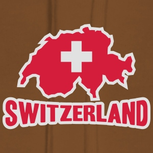 Switzerland Logo T-Shirts - Women's Premium Hoodie