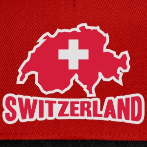 Switzerland Logo T-Shirts - Snapback Cap