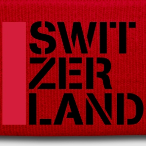 Cool Switzerland Flag Design T-Shirts - Winter Hat