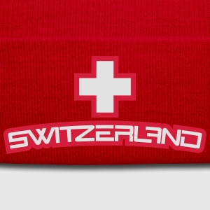 Cool Switzerland Design T-Shirts - Winter Hat