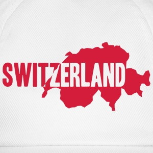 Switzerland Camisetas - Gorra béisbol