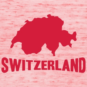 Switzerland Logo T-Shirts - Women's Tank Top by Bella
