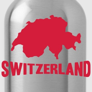 Switzerland Logo Magliette - Borraccia