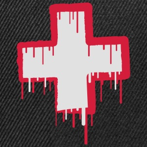 Cool Switzerland Text Cross T-Shirts - Snapback Cap