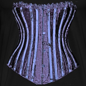 Lilac sexy corset Tee shirts long sleeves - Men's Premium T-Shirt