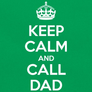Keep Calm and Call Dad (dark) Tee shirts - Sac Retro