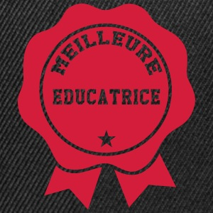 Meilleure Educatrice Tee shirts - Casquette snapback