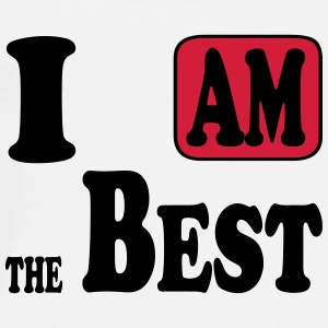I am the Best Casquettes et bonnets - T-shirt Premium Homme