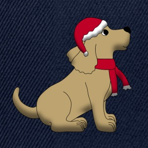 christmas dog E Hoodies & Sweatshirts - Snapback Cap