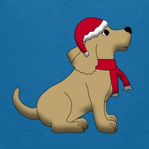 christmas dog E Accessories - Women's V-Neck T-Shirt