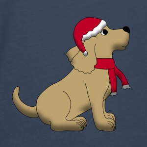 christmas dog E Accessories - Men's Premium Longsleeve Shirt