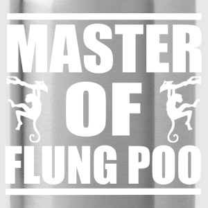 Flung Poo Master T-Shirts - Water Bottle