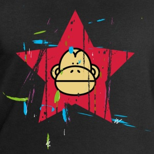Monkey Red Star - Monkey Revolution T-Shirts - Men's Sweatshirt by Stanley & Stella