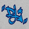 DJ graffiti style font Long Sleeve Shirts - Kids' Premium Longsleeve Shirt