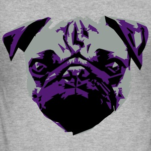 Pug Sweatshirts - Herre Slim Fit T-Shirt