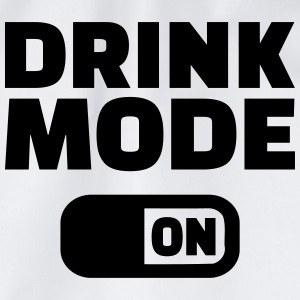 Drink Mode on T-Shirts - Turnbeutel