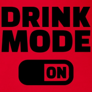 Drink Mode on T-Shirts - Baby Bio-Kurzarm-Body