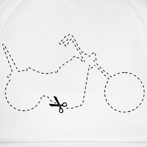 Chopper Motorcycle  T-Shirts - Baseball Cap